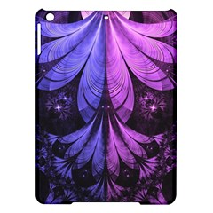 Beautiful Lilac Fractal Feathers of the Starling iPad Air Hardshell Cases