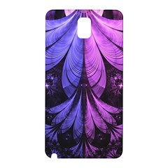Beautiful Lilac Fractal Feathers of the Starling Samsung Galaxy Note 3 N9005 Hardshell Back Case