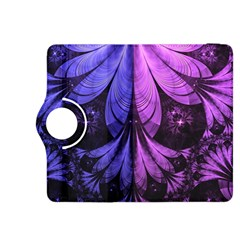Beautiful Lilac Fractal Feathers of the Starling Kindle Fire HDX 8.9  Flip 360 Case