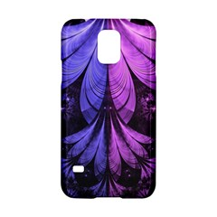 Beautiful Lilac Fractal Feathers of the Starling Samsung Galaxy S5 Hardshell Case