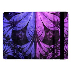 Beautiful Lilac Fractal Feathers of the Starling Samsung Galaxy Tab Pro 12.2  Flip Case