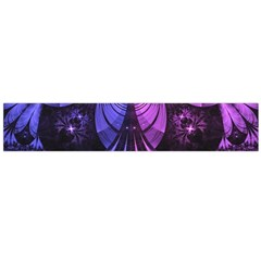 Beautiful Lilac Fractal Feathers Of The Starling Flano Scarf (large)