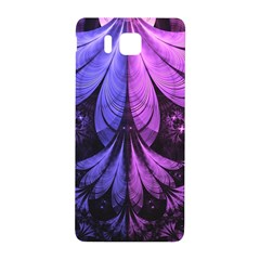 Beautiful Lilac Fractal Feathers of the Starling Samsung Galaxy Alpha Hardshell Back Case