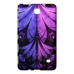 Beautiful Lilac Fractal Feathers of the Starling Samsung Galaxy Tab 4 (8 ) Hardshell Case