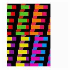 Colorful rectangles and squares                        Small Garden Flag