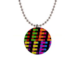 Colorful rectangles and squares                        1  Button Necklace
