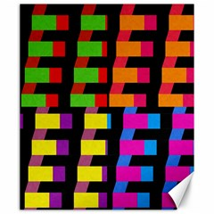 Colorful rectangles and squares                        Canvas 20  x 24