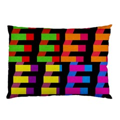Colorful rectangles and squares                        Pillow Case
