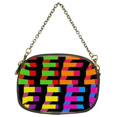 Colorful rectangles and squares                   Chain Purse (Two Sides)