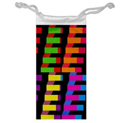 Colorful rectangles and squares                        Jewelry Bag