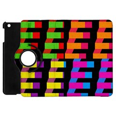 Colorful rectangles and squares                  Apple iPad 3/4 Flip 360 Case