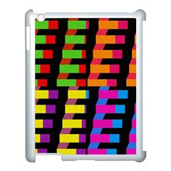 Colorful rectangles and squares                  Apple iPad 3/4 Case (Black)