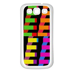 Colorful rectangles and squares                  Samsung Galaxy S7710 Xcover 2 Hardshell Case