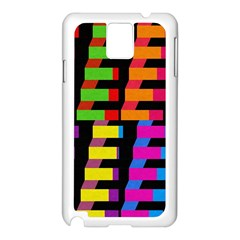Colorful rectangles and squares                  Apple iPhone 5C Seamless Case (White)