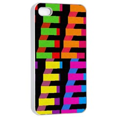 Colorful rectangles and squares                  Apple iPhone 4/4s Seamless Case (Black)