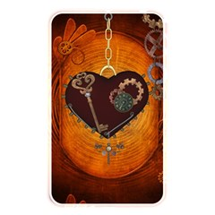 Steampunk, Heart With Gears, Dragonfly And Clocks Memory Card Reader