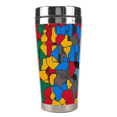 Stained glass                        Stainless Steel Travel Tumbler