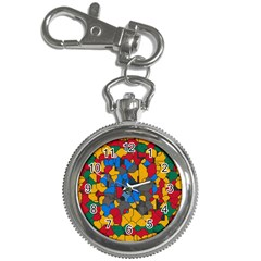 Stained glass                        Key Chain Watch
