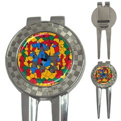 Stained glass                        3-in-1 Golf Divot