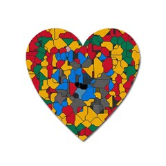 Stained glass                        Magnet (Heart)