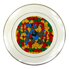 Stained glass                        Porcelain Plate