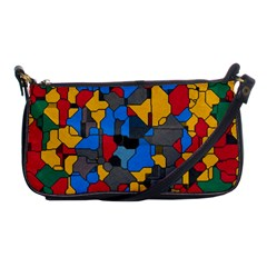 Stained glass                        Shoulder Clutch Bag