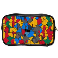 Stained glass                        Toiletries Bag (Two Sides)