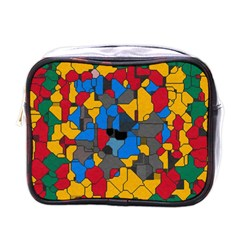 Stained glass                        Mini Toiletries Bag (One Side)