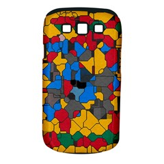 Stained glass                  Samsung Galaxy S II i9100 Hardshell Case (PC+Silicone)