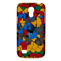 Stained glass                  Samsung Galaxy S4 I9500/I9505 Woven Pattern Leather Folio Case