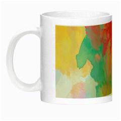 Pastel watercolors canvas                        Night Luminous Mug
