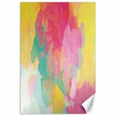Pastel watercolors canvas                        Canvas 24  x 36