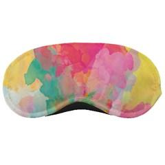 Pastel watercolors canvas                        Sleeping Mask
