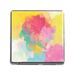 Pastel watercolors canvas                        Memory Card Reader (Square)