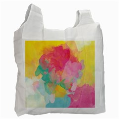 Pastel watercolors canvas                        Recycle Bag