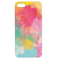 Pastel watercolors canvas                  Apple iPhone 4/4S Hardshell Case with Stand