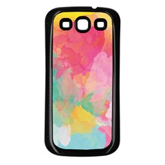 Pastel watercolors canvas                  Samsung Galaxy S3 Back Case (White)