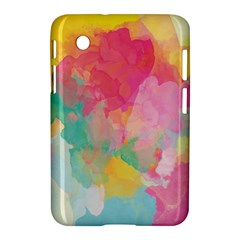 Pastel watercolors canvas                  Apple iPhone 5C Hardshell Case