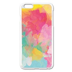 Pastel watercolors canvas                  Apple iPhone 6/6S Leather Folio Case