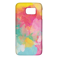 Pastel watercolors canvas                  HTC One M9 Hardshell Case