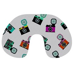 Old cameras pattern                        Travel Neck Pillow