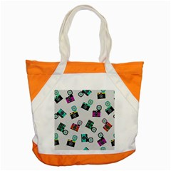 Old cameras pattern                        Accent Tote Bag