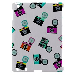 Old cameras pattern                  Apple iPad 3/4 Hardshell Case (Compatible with Smart Cover)