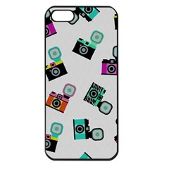 Old cameras pattern                  Apple iPhone 5 Seamless Case (Black)