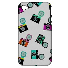 Old Cameras Pattern                  Apple Iphone 3g/3gs Hardshell Case (pc+silicone)