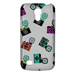 Old cameras pattern                  Samsung Galaxy S4 I9500/I9505 Woven Pattern Leather Folio Case