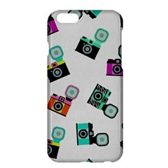 Old cameras pattern                  Apple iPhone 6 Plus/6S Plus Enamel White Case