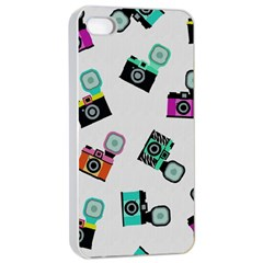 Old cameras pattern                  Apple iPhone 4/4s Seamless Case (Black)