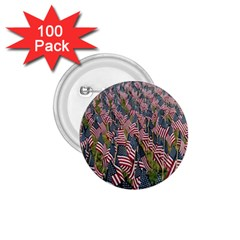 Repetition Retro Wallpaper Stripes 1.75  Buttons (100 pack)