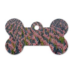 Repetition Retro Wallpaper Stripes Dog Tag Bone (one Side)